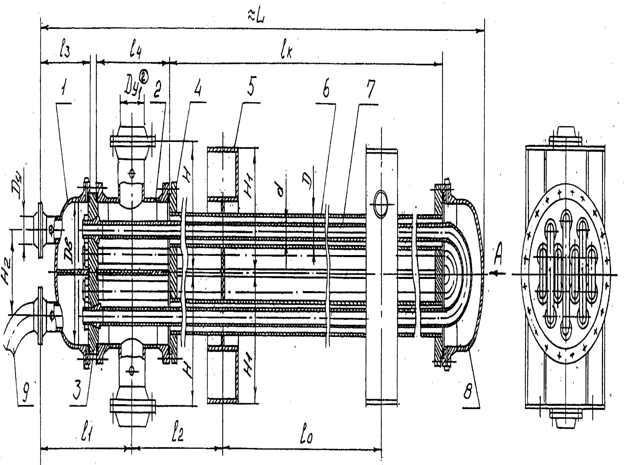 Эскиз теплообменника для мазута укпг теплообменник газ газ
